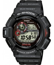 Casio G-9300-1ER Mężczyźni g-shock sensor Twin zegarek zasilany energią słoneczną