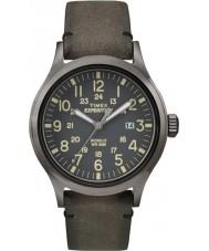 Timex TW4B01700 Mężczyźni wyprawa analogowy podwyższone Brown zegarka