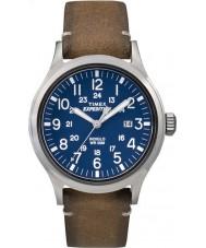 Timex TW4B01800 Mężczyźni wyprawa analogowy podwyższone tan skórzany pasek zegarka