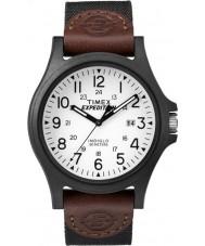 Timex TW4B08200 Mężczyźni wyprawa brązowy tkaniny Pasek zegarka