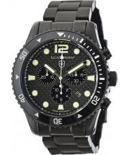 Elliot Brown 929-002-B03 Męska Bloxworth czarne włókna węglowego Chronograph zegarek