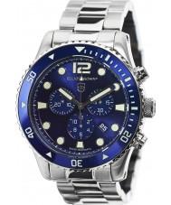 Elliot Brown 929-003-B01 Męska Bloxworth srebrny zegarek chronograf ze stali