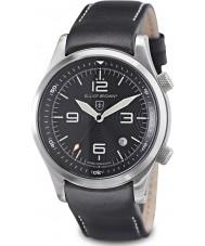 Elliot Brown 202-012-L02 edycja Mężczyźni GOPR Canford czarny zegarek czarny z dodatkowym tkanego balistycznego nylonu