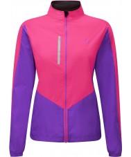 Ronhill RH-001473RH00179-12 Kobiet kurtka Vizion fluo pink bzu windlite - rozmiar uk 12 (m)