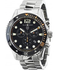 Elliot Brown 929-005-B01 Męska Bloxworth srebrny zegarek chronograf ze stali