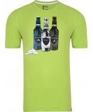 Dare2b Męska koszulka trykotowa z limonką