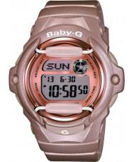 Casio BG-169G-4ER Panie baby-g Telememo czas światowy żywicy różowy pasek zegarka