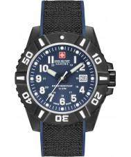 Swiss Military 6-4309-17-003 Mens czarny zegarek węglowy