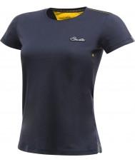Dare2b Damska koszulka z krótkimi rękawami z kapturem