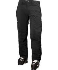 Helly Hansen Mens velocity czarne spodnie narciarskie