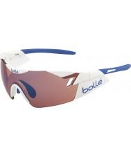 Bolle 6th Sense błyszcząca biała róża niebieskie okulary