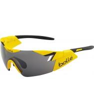Bolle 6th Sense błyszczące żółty czarny TNS pistolet okulary