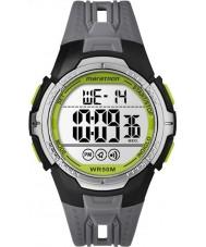 Timex TW5M06700 Mężczyzna maraton czarny pasek zegarka żywicy