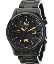 Elliot Brown 202-002-B04 Mężczyźni Canford czarny zegarek bransoleta ze stali ip