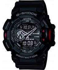 Casio GA-400-1BER Mężczyźni g-shock zegarek chronograf czarna