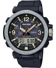 Casio PRG-600-1ER Mężczyźni Pro Trek zasilany energią czarny zegarek cyfrowy