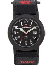 Timex T40011 Mens black camper wyprawa zegarek