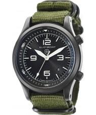 Elliot Brown 202-004-N01 Mężczyźni Canford zielony Materiał pasek zegarka