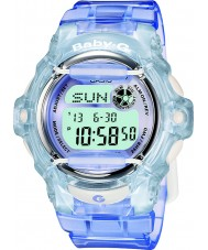 Casio BG-169R-6ER Panie baby-g Telememo 25 niebieski zegarek cyfrowy