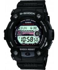 Casio GW-7900-1ER Mężczyźni g-shock przypływ wykres zegarek zasilany energią słoneczną