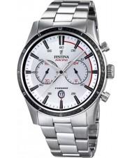 Festina F16818-1 Mężczyźni Tour of Britain 2015 wszystkie srebrny zegarek chronograf