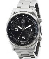 Elliot Brown 202-006-B07 Mężczyźni Canford srebro stal bransoletka zegarek