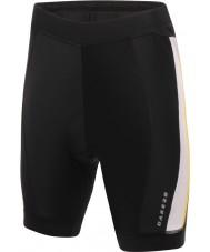 Dare2b Spodnie czarne szorty rowerowe dla mężczyzn