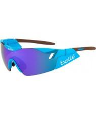 Bolle 6th Sense AG2R błyszczące brązowe niebiesko-fioletowe okulary