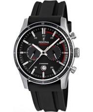 Festina F16874-I Mężczyźni Tour of Britain 2015 cały czarny Chronograph watch