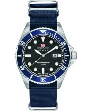 Swiss Military 6-4279-04-007-03 Mężczyzna lew morski niebieski nylon Pasek zegarka