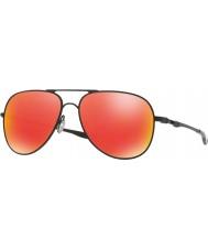 Oakley Oo4119-04 Elmont M i L satyna czarna - Ruby iryd okulary