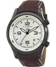 Elliot Brown 202-009-L05 Mężczyźni Canford brązowy skórzany pasek zegarka
