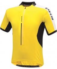 Dare2b DMT134-0QX40-XS Mężczyźni Astir żółte Koszulka t-shirt - rozmiar XS