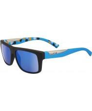 Bolle Clint matte black blue spolaryzowane okulary gb-10