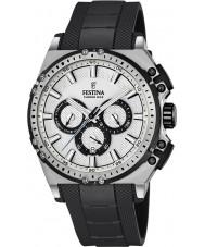 Festina F16970-1 Męskie Chrono rowerów czarnej gumy Chronograph zegarek