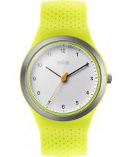 Braun BN0111WHGRL Panie sport zielony silikonowy pasek zegarka