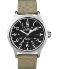 Timex T49962 Mężczyźni wyprawa scout tan zegarek