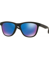 Oakley Oo9320-11 moonlighter czarny matowy - szafirowe iryd spolaryzowane okulary