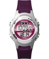 Timex TW5M11100 Panie maraton żywicy fioletowy pasek zegarka