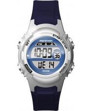 Timex TW5M11200 Panie maraton żywicy niebieski pasek zegarka
