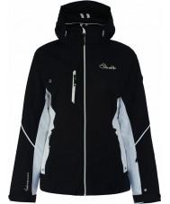 Dare2b DWP334-80010L Women wyryte linie czarna kurtka - rozmiar 10 (s)