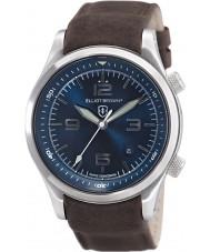 Elliot Brown 202-007-L07 Mężczyźni Canford brązowy skórzany pasek zegarka
