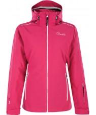Dare2b DWP305-1Z006L Panie pracują nawet porażenie kurtkę narciarską różowy - rozmiar uk 6 (XXS)