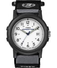 Timex T49713 Mężczyzna biały czarny camper wyprawa zegarek