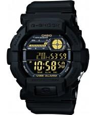 Casio GD-350-1BER Mężczyźni g-shock czas światowy czarny zegarek