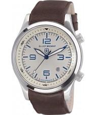 Elliot Brown 202-001-L09 Mężczyźni Canford brązowy skórzany pasek zegarka