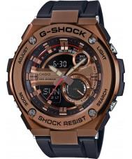 Casio GST-210B-4AER Mężczyźni g-shock auto led czarny pasek zegarka żywicy
