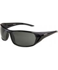 Bolle Blacktail błyszczące czarne okulary TNS