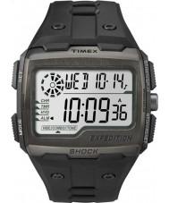 Timex TW4B02500 Mężczyźni wyprawa szok cyfrowa czarna chrono zegarek