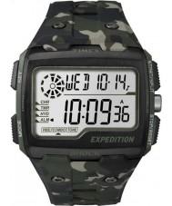 Timex TW4B02900 Mężczyźni wyprawa szok cyfrowy khaki moro Chrono zegarek